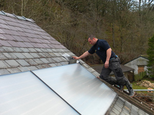 Fitting Solar Panels to a slate roof