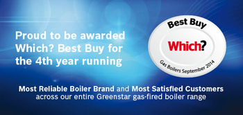 Worcester Bosch Which? Best Buy Boilers 2014